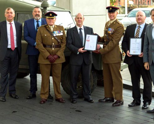 Armed Forces Covenant with GSTS Liverpool