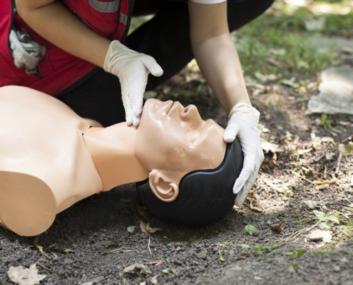 first aid at work course provided by gsts liverpool