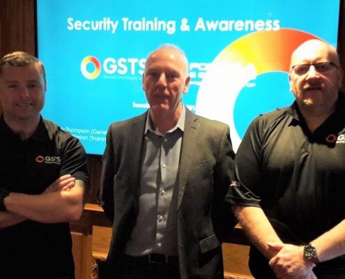 Andy and Robbie from GSTS Liverpool