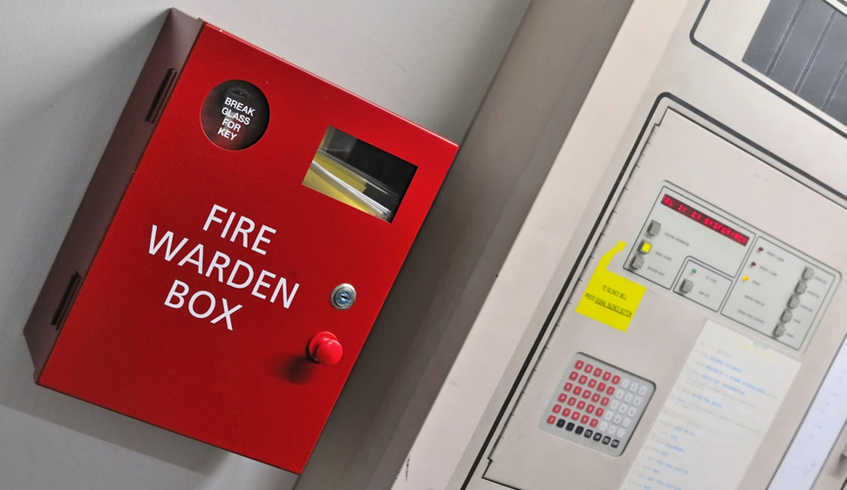 fire warden box at gsts north west