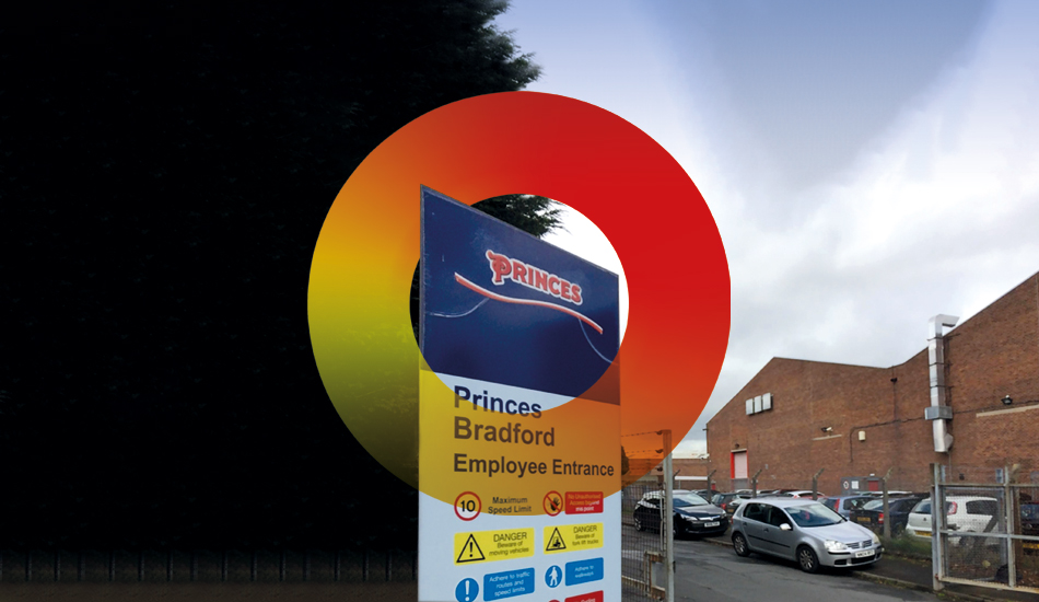 Princes Food Bradford is now being secured by GSTS security and training services - A company based in Liverpool