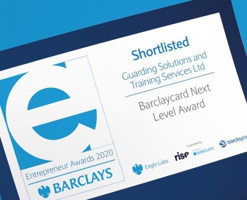 GSTSshortlisted for Barclays Entrepreneur Awards