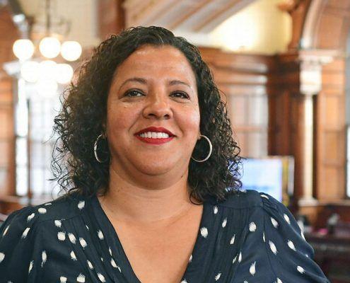 Liverpool Mayor Joanne Anderson