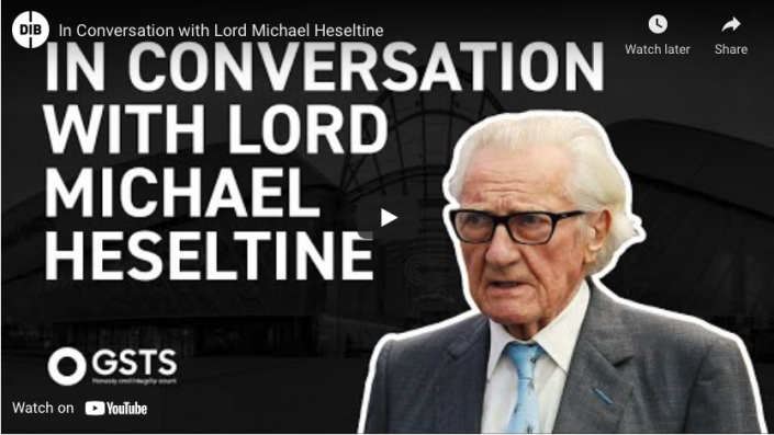 In conversation with Lord Michael Heseltine